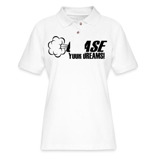 Chase your Dreams [Women] - Women's Pique Polo Shirt