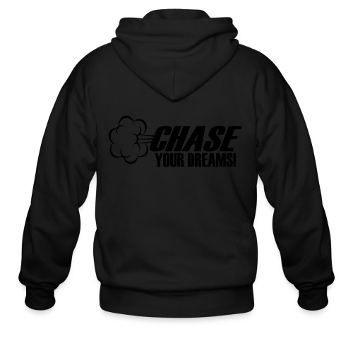 Chase your Dreams [Women] - Men's Zip Hoodie