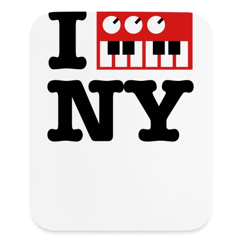 I Synthesize New York - Mouse pad Vertical