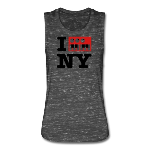 I Synthesize New York - Women's Flowy Muscle Tank by Bella