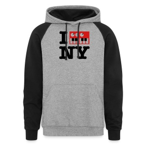I Synthesize New York - Colorblock Hoodie