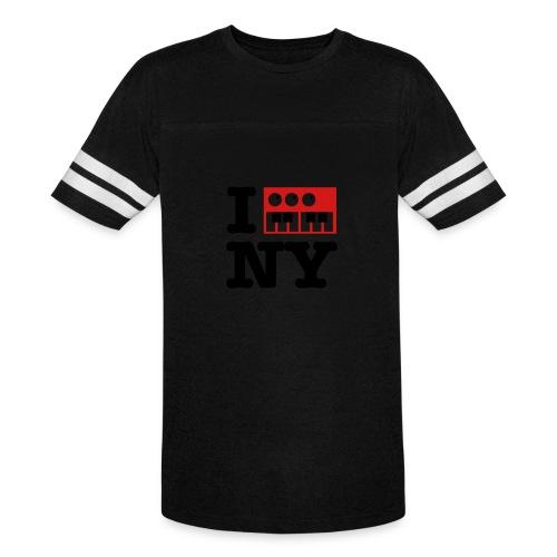 I Synthesize New York - Vintage Sport T-Shirt