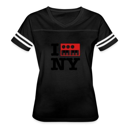 I Synthesize New York - Women's Vintage Sport T-Shirt