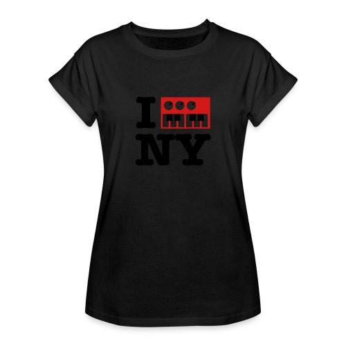 I Synthesize New York - Women's Relaxed Fit T-Shirt
