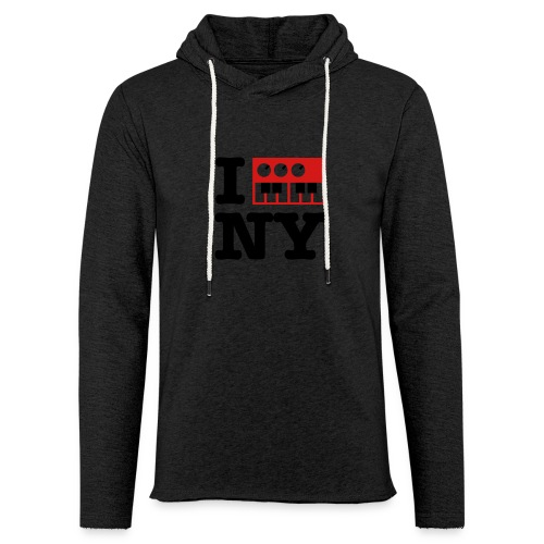 I Synthesize New York - Unisex Lightweight Terry Hoodie