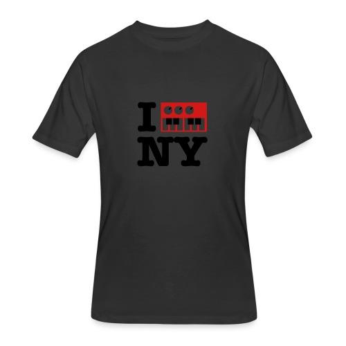 I Synthesize New York - Men's 50/50 T-Shirt