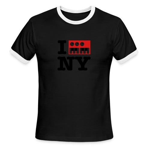 I Synthesize New York - Men's Ringer T-Shirt