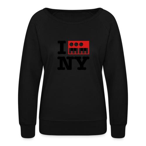 I Synthesize New York - Women's Crewneck Sweatshirt