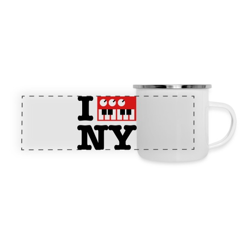 I Synthesize New York - Panoramic Camper Mug