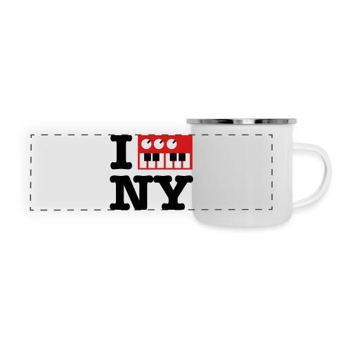 I Synthesize New York - Panoramic Camper Mug