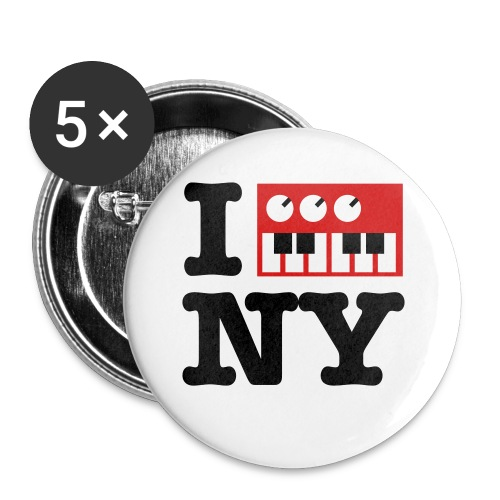 I Synthesize New York - Small Buttons