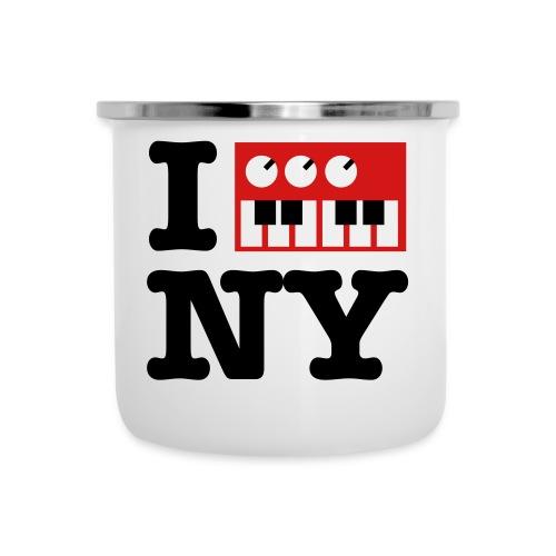I Synthesize New York - Camper Mug