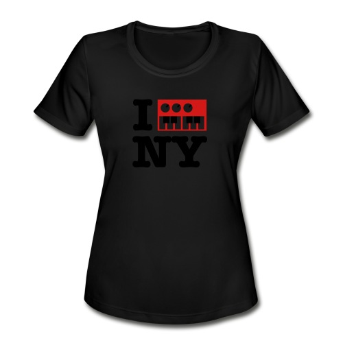 I Synthesize New York - Women's Moisture Wicking Performance T-Shirt