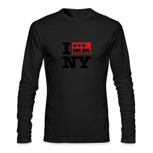 I Synthesize New York - Men's Long Sleeve T-Shirt by Next Level