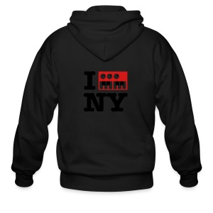 I Synthesize New York - Men's Zip Hoodie