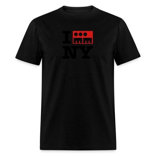 I Synthesize New York - Men's T-Shirt