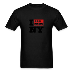 I Synthesize New York - Men's T-Shirt