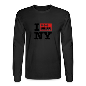 I Synthesize New York - Men's Long Sleeve T-Shirt