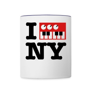 I Synthesize New York - Contrast Coffee Mug