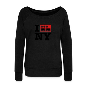 I Synthesize New York - Women's Wideneck Sweatshirt