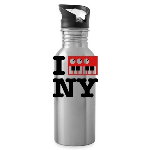 I Synthesize New York - Water Bottle