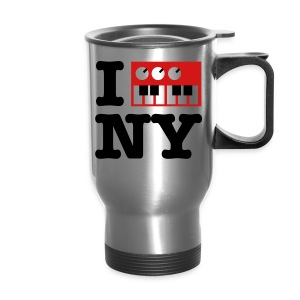 I Synthesize New York - Travel Mug