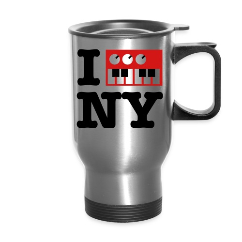 I Synthesize New York - Travel Mug