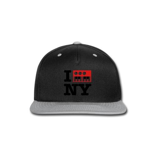 I Synthesize New York - Snap-back Baseball Cap