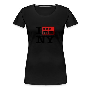I Synthesize New York - Women's Premium T-Shirt