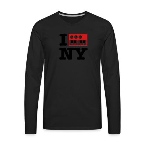 I Synthesize New York - Men's Premium Long Sleeve T-Shirt