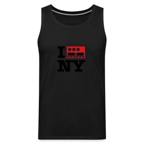 I Synthesize New York - Men's Premium Tank