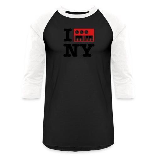 I Synthesize New York - Baseball T-Shirt