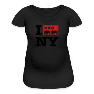 I Synthesize New York - Women's Maternity T-Shirt