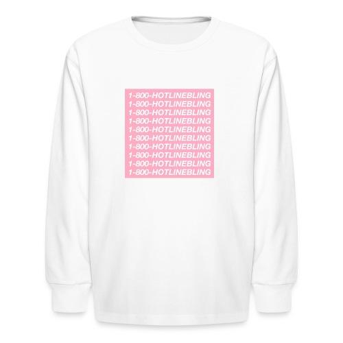 1800HOTLINEBLING - Kids' Long Sleeve T-Shirt