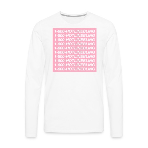 1800HOTLINEBLING - Men's Premium Long Sleeve T-Shirt
