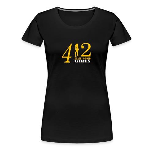 412 Women's Tank Top - Women's Premium T-Shirt