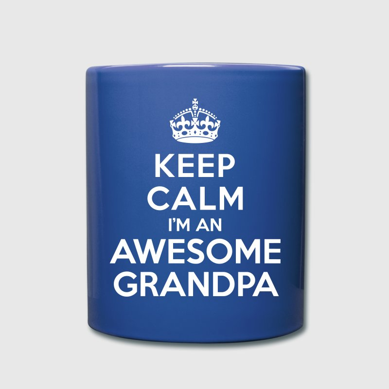 Keep calm Awesome Grandpa Mugs & Drinkware - Full Color Mug