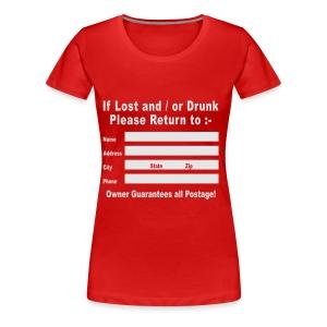lost or drunk - Women's Premium T-Shirt