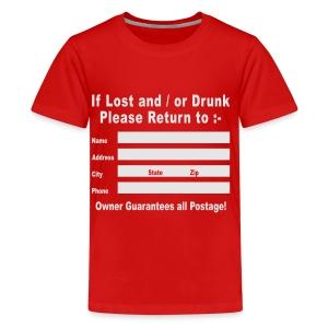 lost or drunk - Kids' Premium T-Shirt