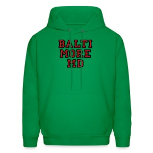 Baltimore MD Kid's T-Shirt College Style - Men's Hoodie
