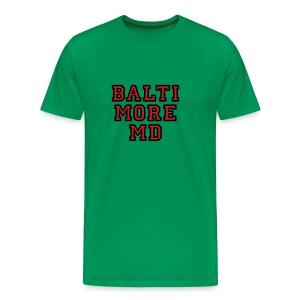 Baltimore MD Kid's T-Shirt College Style - Men's Premium T-Shirt