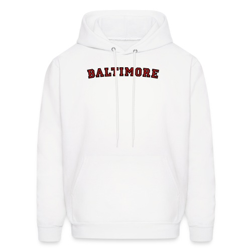 Baltimore T-Shirt College Style - Men's Hoodie