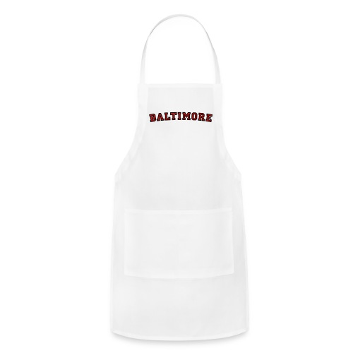 Baltimore T-Shirt College Style - Adjustable Apron