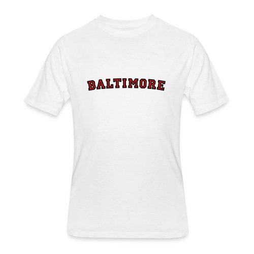 Baltimore T-Shirt College Style - Men's 50/50 T-Shirt