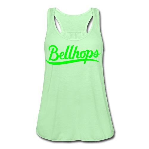 Bellhops Green Women - Women's Flowy Tank Top by Bella