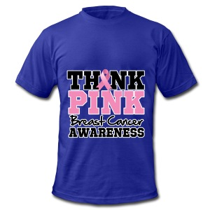 Think Pink - Men's Fine Jersey T-Shirt