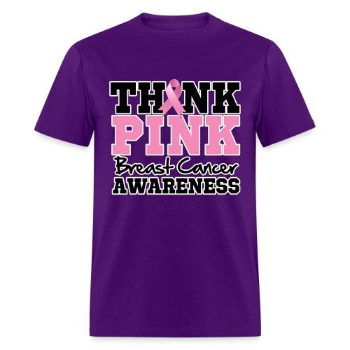Think Pink - Men's T-Shirt