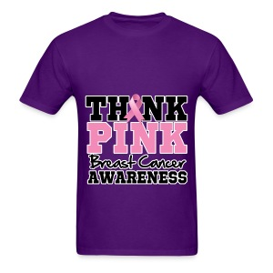 Think Pink - Men's T-Shirt