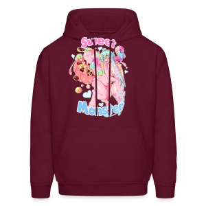 Sweet Monster (Pink) Guy's Tee - Men's Hoodie
