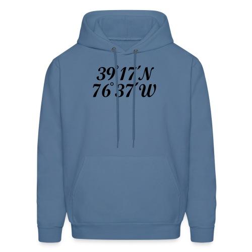Baltimore, Maryland Children's T-Shirt Coordinates - Men's Hoodie